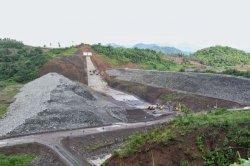 Pembangunan Bendungan Lolak Tetap Berjalan Meski PPKM Level 4, Johan: Kami Terapkan Prokes Ketat