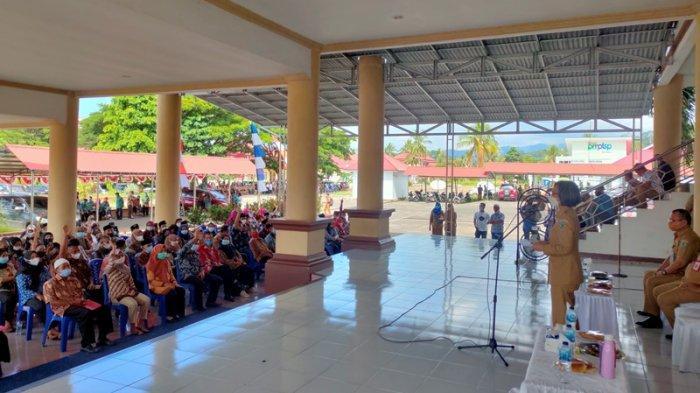 1.029 Anggota BPD di Bolmong Resmi Dilantik, Bupati Yasti Mokoagow Ingatkan Soal Vaksinasi