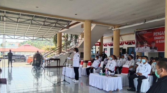 663 Anggota BPD dari Akhirnya Dilantik Bupati Bolmong Yasti Soepredjo Mokoagow
