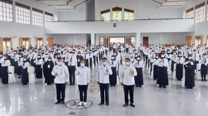 Buka Latsar Tahun 2021, Bupati Bolmong Yasti Mokoagow Minta Peserta Upgrade Pengetahuan