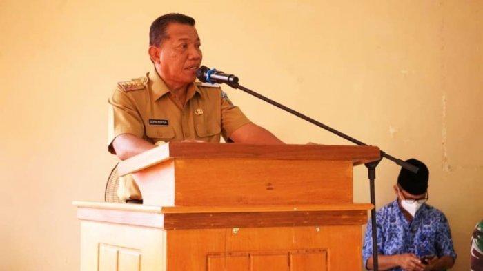 Kunjungi Kecamatan Sangkub, Bupati Bolmut Ajak Masyarakat Bersama Cegah Penularan Covid-19