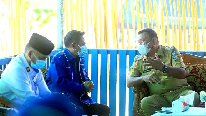 Bupati Depri Pontoh Hadiri Kegiatan Syukuran Pemanfaatan Gedung Sekretariat DPD PAN Bolmut