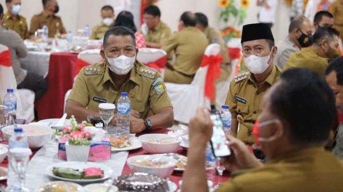 Bupati Bolmut Depri Pontoh Hadiri Kunker Ketua DPR RI