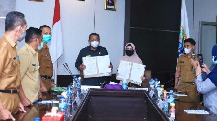 Bupati Bolmut Terima Kunjungan Rektor Universitas Bina Taruna Gorontalo