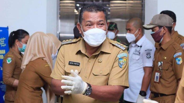 Angka Kasus Covid-19 di Bolmut Kian Tinggi, Bupati Depri Pontoh Imbau Masyarakat Disiplin