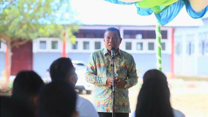 Bupati Bolmut Depri Pontoh Menutup Secara Resmi Seleksi Kompetensi Dasar CPASN Tahun 2021