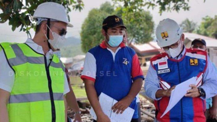 Iskandar Kamaru Tinjau Pembangunan Sejumlah Proyek Nasional di Bolsel