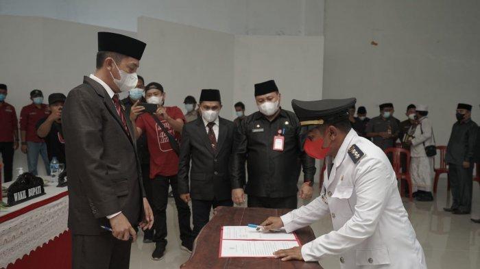 Bupati Bolsel Lantik Sejumlah Pejabat Fungsional dan Struktural