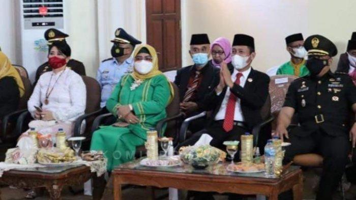 Hadir di HUT Kabupaten Bolmut, Bupati Bolsel Iskandar Kamaru Harapkan Sinergitas Dalam Pembangunan