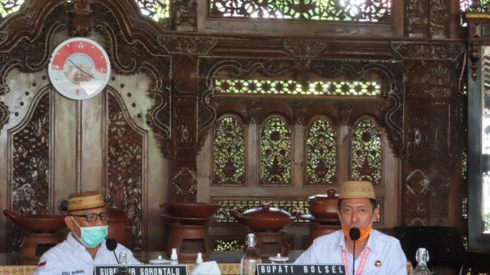 Berkunjung ke Gorontalo, Bupati Bolsel Lobi Habibie Gratiskan Rapid Test Bagi Pelajar & Mahasiswa