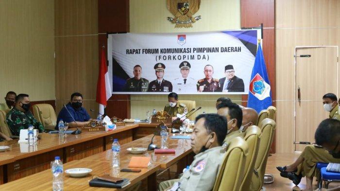 Bupati Boltim Sam Sachrul Mamonto Pimpin Rapat Bersama Forkopimda Bahas Hal Ini