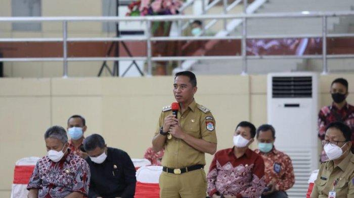 Bupati dan Wabup Boltim Hadiri Rakor Pengawasan Intern Keuangan dan Pembangunan Tingkat Provinsi