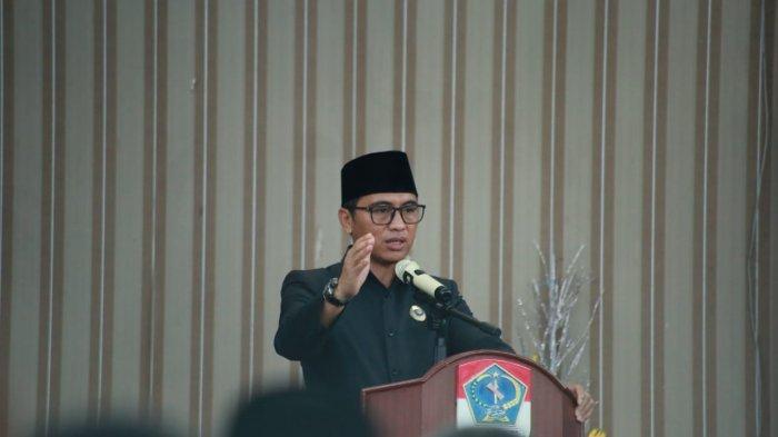 Bupati Bolaang Mongondow Timur (Boltim) Sam Sahcrul Mamonto membuka Musyawarah Rencana Pembangunan Jangka Menengah Daerah (RPJMD) Tahun 2021-2026, pada Kamis (01/07/2021)