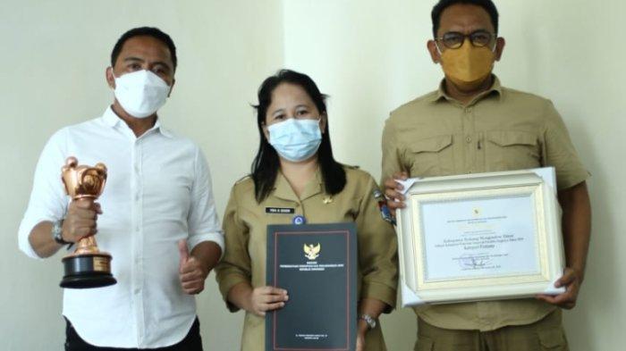 Boltim Terima Penghargaan dari Kementrian PPPA RI