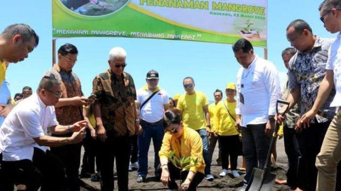 Bupati Minsel Peringati Hari Hutan Internasional dan Air Sedunia