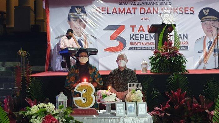 Perayaan HUT Kepemimpinan Sasingen dan Palandung di Sitaro Berlangsung Sederhana