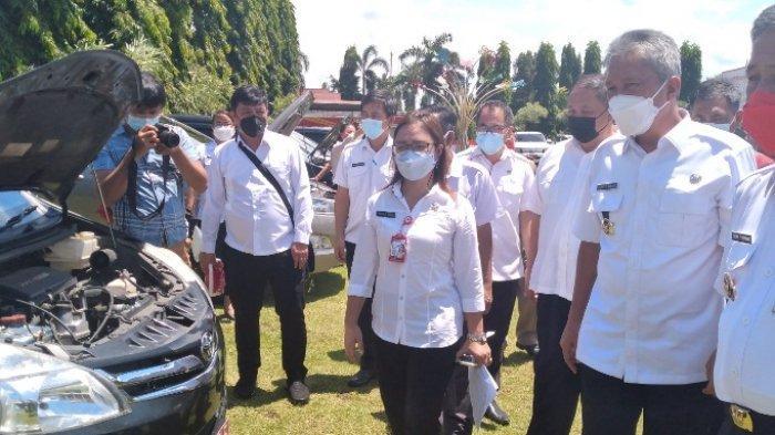 Bupati Minsel Franky Donny Wongkar Perintahkan Tarik Mobnas Pejabat Malas Bayar Pajak