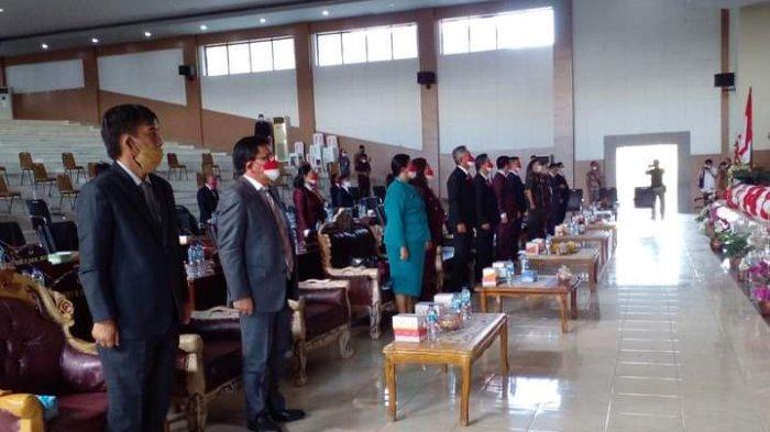 Undangan Terbatas, DPRD Kabupaten Minsel Gelar Rapat Paripurna Dengarkan Pidato Presiden Joko Widodo