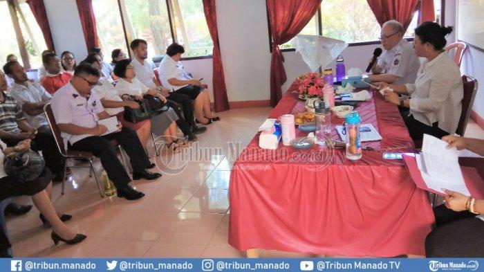Bupati dan Wakil Bupati Sitaro Tatap Muka dengan Pemerintah Kecamatan dan Masyarakat Siau Barat