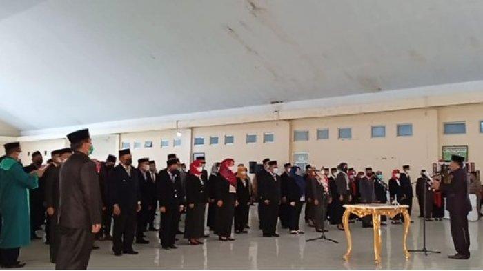 108 Pejabat Fungsional Bolmut Dilantik, Bupati Depri Pontoh Sampaikan Pesan Ini