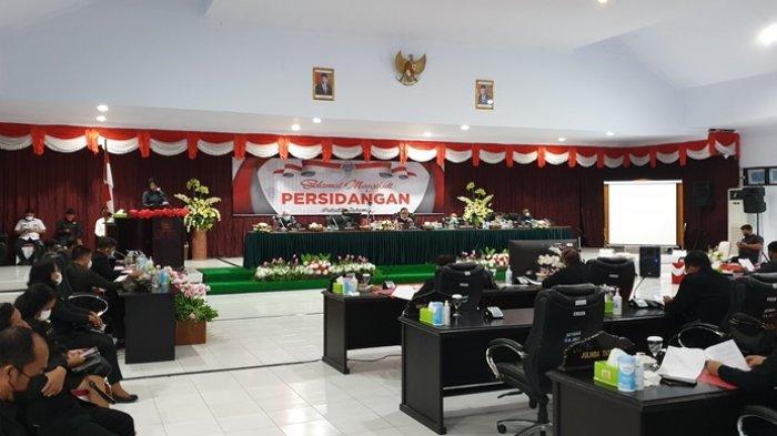 Pemkab Sitaro Ajukan Ranperda Perubahan APBD 2021 ke DPRD