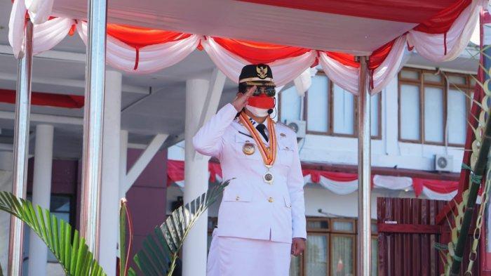 Upacara Peringatan HUT ke-76 Kemerdekaan RI di Sitaro Dilaksanakan Terbatas
