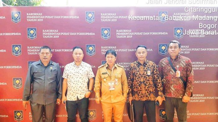 Bupati James Sumendap Hadiri Rakornas Forkopimda se-Indonesia di Bogor