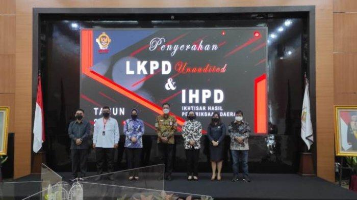 Serahkan LKPD 2020 kepada BPK, Bupati Yasti Mokoagow Harap Bolmong Raih WTP Perdana