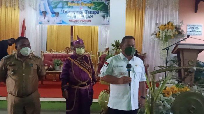 Bupati Talaud LauncingSistem SPEP di Kecamatan Melonguane