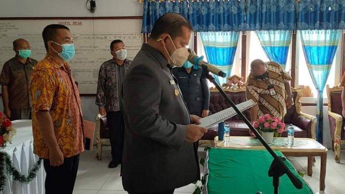 Bupati Talaud Elly Engelbert Lasut Lantik 11 Kepala Desa