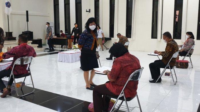 Rolling Pejabat Pimpinan Tinggi Pratama Pemkab Sitaro Menunggu Hasil Job Fit