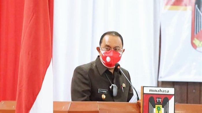 Hadiri Rapat Paripurna DPRD Minahasa, Bupati ROR: Fokus Kesehatan dan Pemulihan Ekonomi