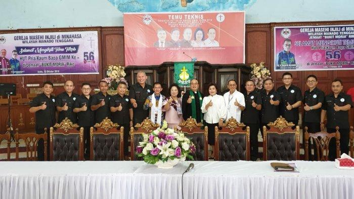 RORHadiri Ibadah Pembukaan Temu Teknis Perayaan HUT ke-56 P/KB GMIM