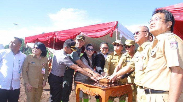 Apel Kerja Awal Tahun, RR-RD Lakukan Pencanangan Pelestarian Danau Tondano