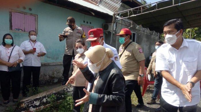 Bupati Minahasa ROR Dampingi Mensos Risma Tinjau Daerah Terdampak Bencana Alam