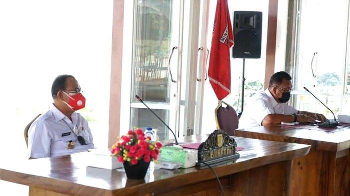 Royke Roring Pimpin Rapat Forkopimda Minahasa, Bahas Percepatan Vaksinasi Covid-19