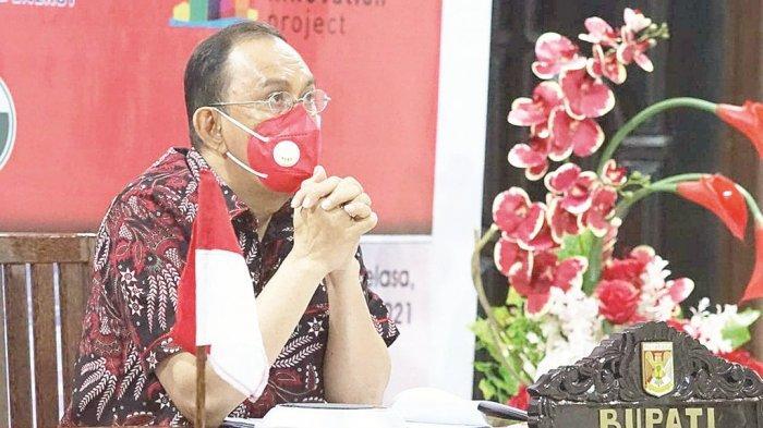 Bupati Minahasa Royke Roring Wakili Indonesia di Webinar Kepala Daerah Pesisir
