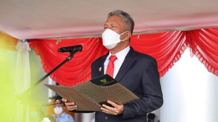 Bupati Minsel Irup Hari Kesaktian Pancasila, Wakil Ketua DPRD Bacakan Ikrar