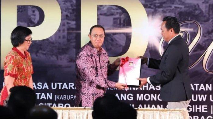 Bupati Minahasa Serahkan Laporan Keuangan Pemerintah Daerah Unaudited