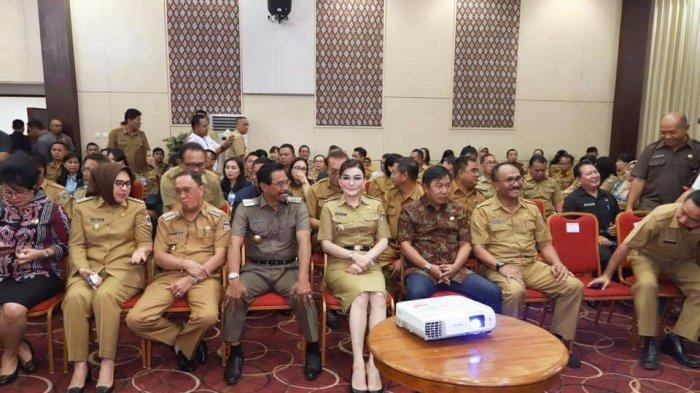 Dihadiri Pimpinan KPK, Bupati Minsel Tandatangani MoU Manajemen Aset Daerah