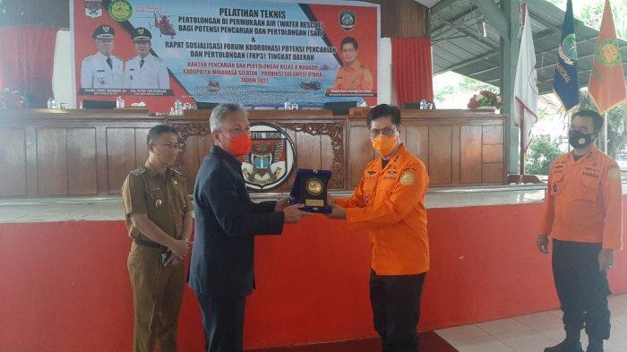 Basarnas Manado beri Pelatihan SAR kepada Masyarakat Minsel, Bupati Wongkar Apresiasi