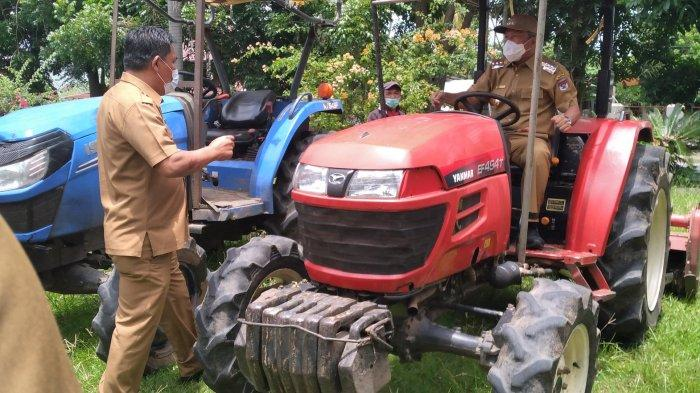 Uang Sewa Traktor di Dinas Pertanian Minsel Tidak Masuk Kas Daerah