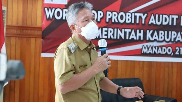 Franky Donny Wongkar 'Kuliahi' Peserta Workshop Probity Audit Pengadaan Barang dan Jasa