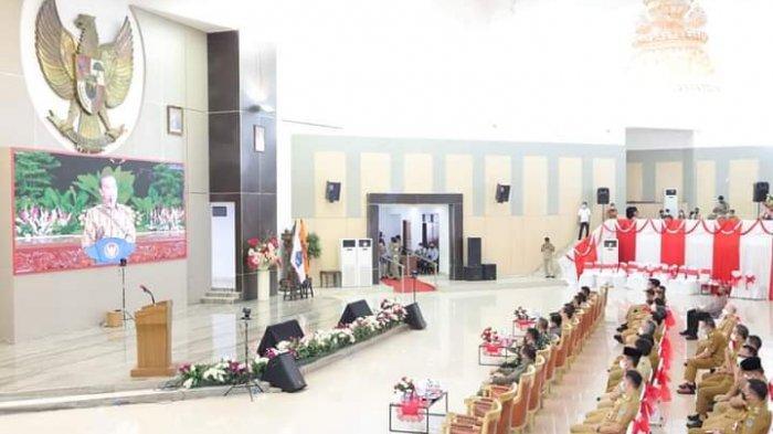 Bupati Minsel Imbau Waspadai Covid-19 Usai Libur Lebaran, Tindaklanjut Hasil Vicon dengan Presiden