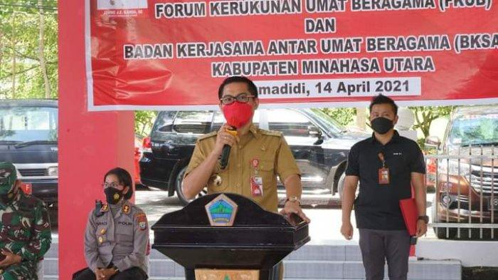 Diundang Beri Kuliah Umum di IPDN, Bupati Minut Joune Ganda Sepanggung Dengan Menantu Jokowi