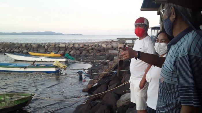 Pesan Joune Ganda Dari Atas Dermaga Paka Paka Ombak: Komitmen Kami Sejahterakan Nelayan