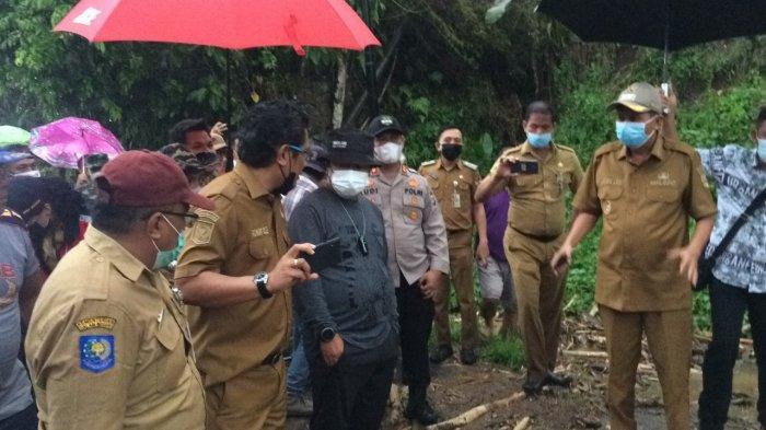 Bupati Mitra James Sumendap Prioritas Pencarian Warga Hilang saat Banjir Bandang