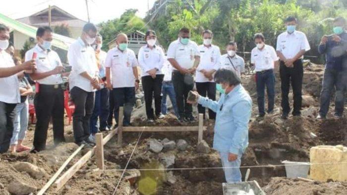 Pemkab Minahasa Tenggara Bantu Renovasi Sejumlah Rumah Korban Banjir
