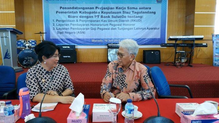 Bupati Sitaro Minta Bank SulutGo Selektif Terima Pengajuan Kredit ASN