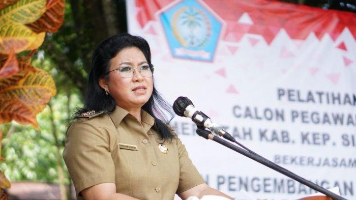 Bupati Sitaro Ingatkan Pejabat Bekerja dengan Bertanggung Jawab